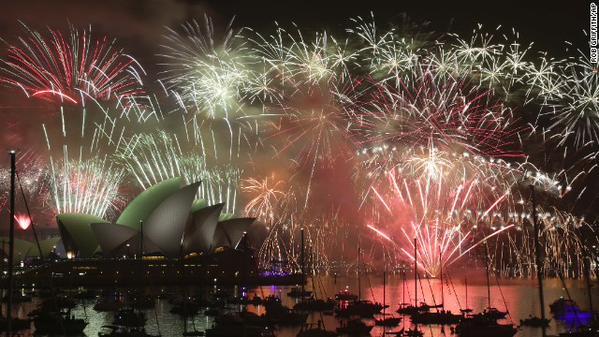 أحتفالات استراليا بعام 2015