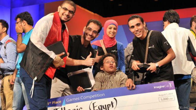 الفريق الفائز في مسابقة ميكروسوفت العالمية يأمل في دعم أكبر لصناعة ألعاب الفيديو في مصر