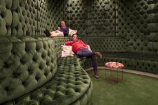 غرفة للأسترخاء في مكتب جوجل بلندن