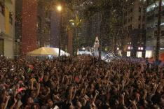 في مانيلا احتفل الآلاف بالعام الجديد في الشوارع