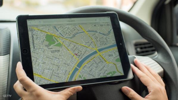 استخدام خدمة خرائط جوجل بالسيارة من خلال الموبايل أو التابلت