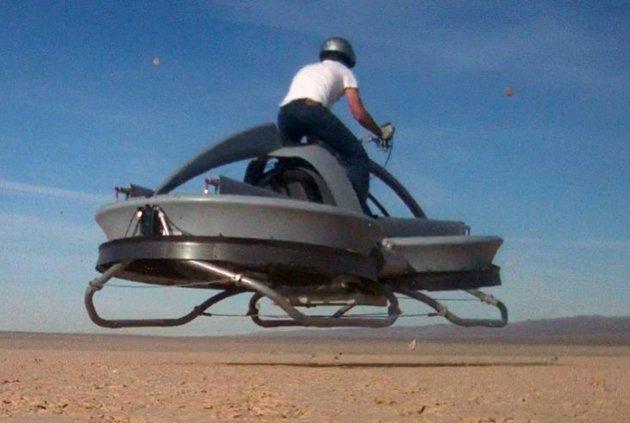 نموذج للدراجات النارية الطائرة