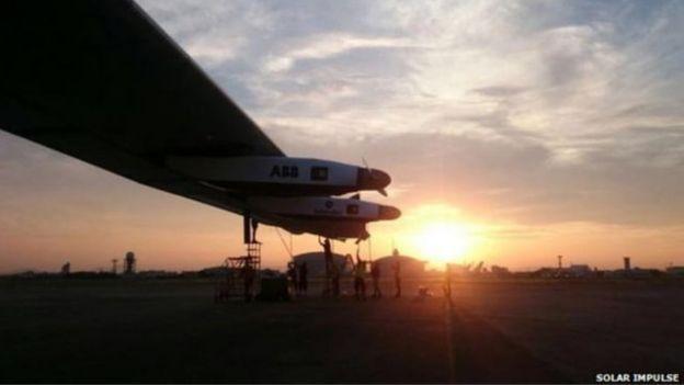حال نجاح رحلة الطائرة عبر الهادي، ستسكمل رحلتها عبر أمريكا الشمالية، ثم تعبر المحيط الأطلنطي