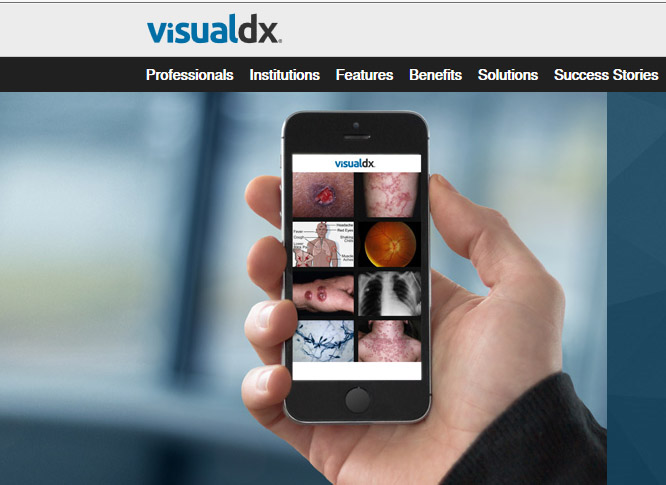 موقع فيشيوال دي أكس للتشخيص الطبي