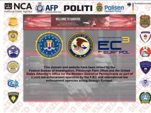مكتب التحقيقات الفيدرالي يغلق الموقع المشبوهه لمحاربة الجريمة الإلكترونية