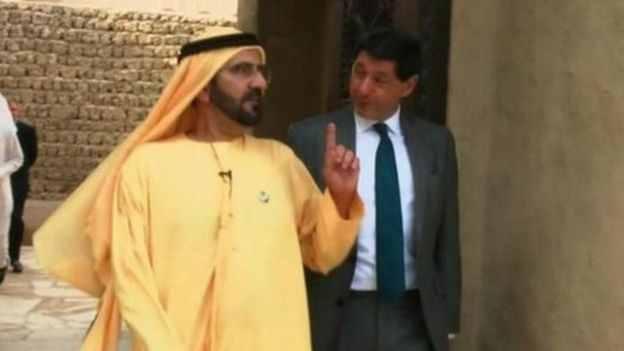 الشيخ محمد ين راشد، حاكم دبي، اعترف بوجود أخطاء في قضية الشاب الأمريكي