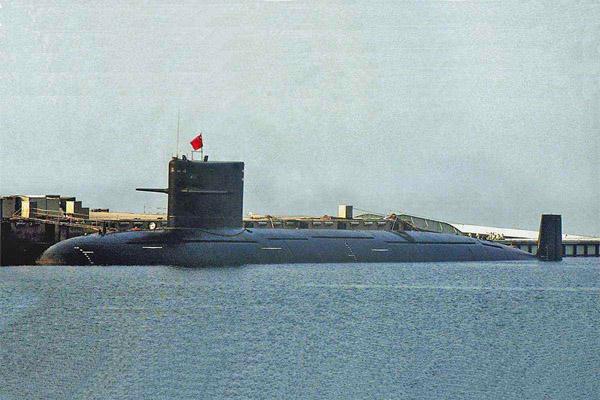 صورة لأحد الغواصات النووية الصينية الحديثة