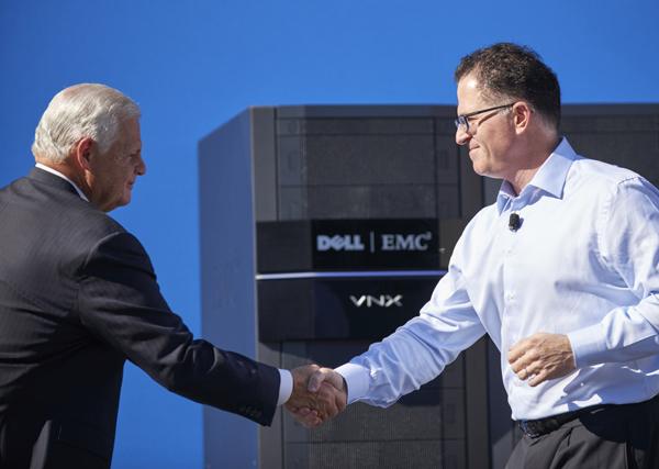 استحواذ شركة ديل علي شركة إي أم سي هو أكبر استحواذ لشركتين في مجال التكنولوجيا