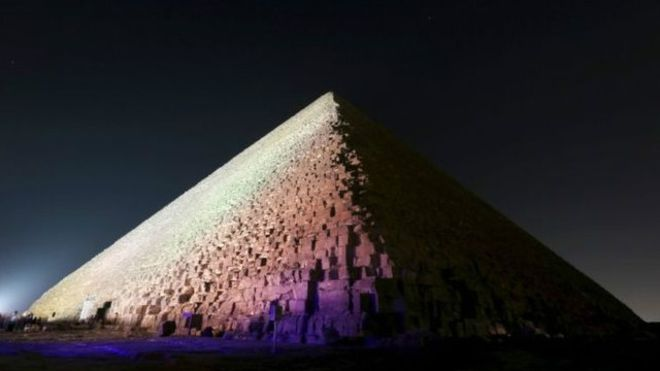 الاكتشاف جاء بعد أسبوعين من بداية مشروع المسح الضوئي للأهرامات