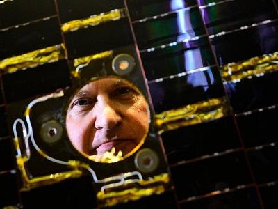 مارك سيمز مدير مهمة بيجل 2 السفينة الفضائية التي أطلقتها وكالة الفضاء الأوربية