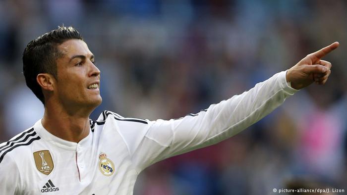 رونالدو نجم ريال مدريد ونجم شبكات التواصل الإجتماعي