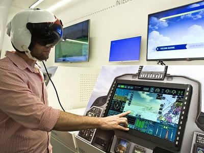 مركز للأبحاث العسكرية الإلكترونية يطور مجموعة حساسات توضع علي جسم الطيارين لقياس الوظائف الحيوية