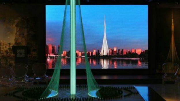 شركة إعمار العقارية أعلنت عن البرج الجديد، وهي الشركة ذاتها التي صممت برج خليفة