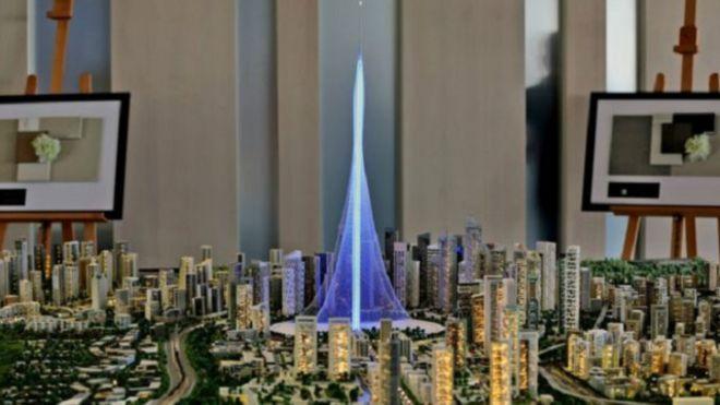 البرج الجديد هو جزء من إعادة تطوير وسط مدينة دبي القديمة