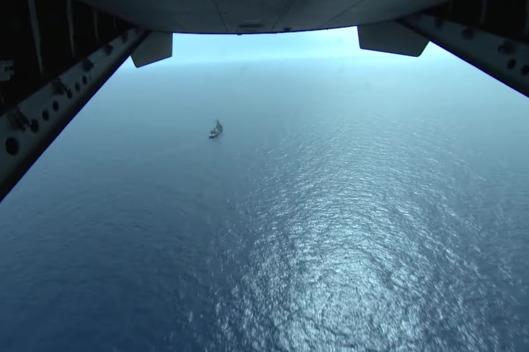 عمليات البحث تجري من الجو والبحر