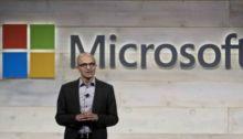 رئيس شركة مايكروسوفت يعلن الأرباح الفصلية للشركة