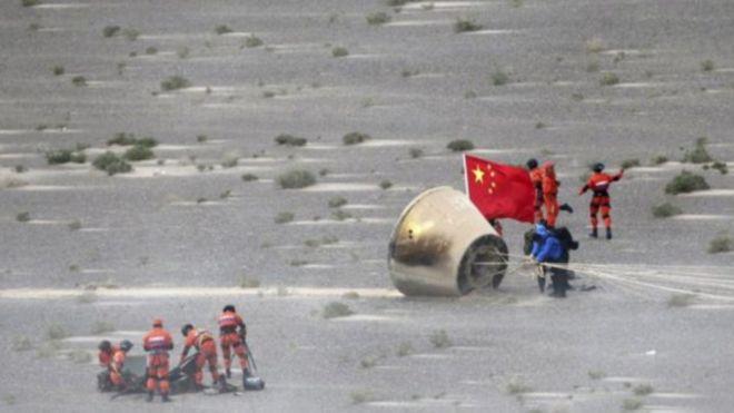 يمضي برنامج الفضاء الصيني بوتيرة سريعة في الآونة الأخيرة