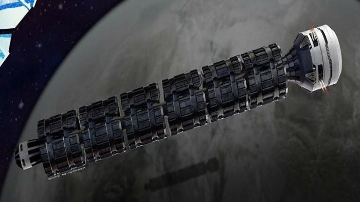 """صورة افتراضية لقطار الفضاء """"Solar Express"""""""
