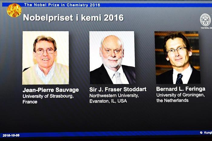 العلماء الفائزون بجائزة نوبل في الكمياء