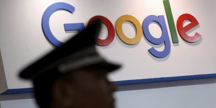 شعار شركة جوجل في مدينة شنغهاي بالضين