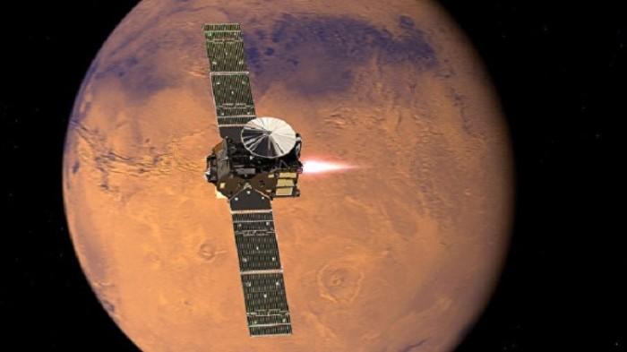 محطة مدارية فوق المريخ
