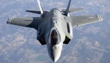 المقاتلة الأمريكية F35