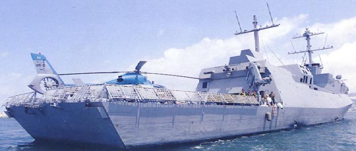 السفن الحربية التي ستبني لإسرائيل مزودة بنظام مضاد للصواريخ ومهبط لطائرات مروحية