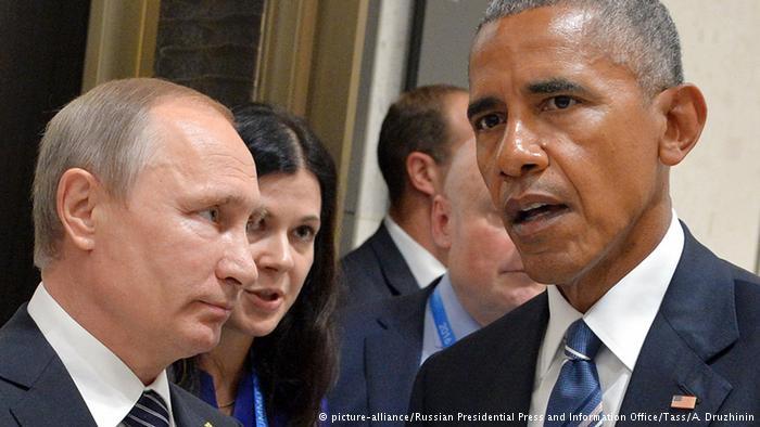 علاقة متوترة بين أوباما وبوتين