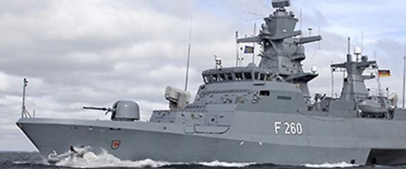 السفينة الحربية التي تم التعاقد عليها