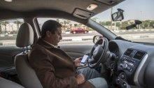 سائق لشركة أوبر في مصر