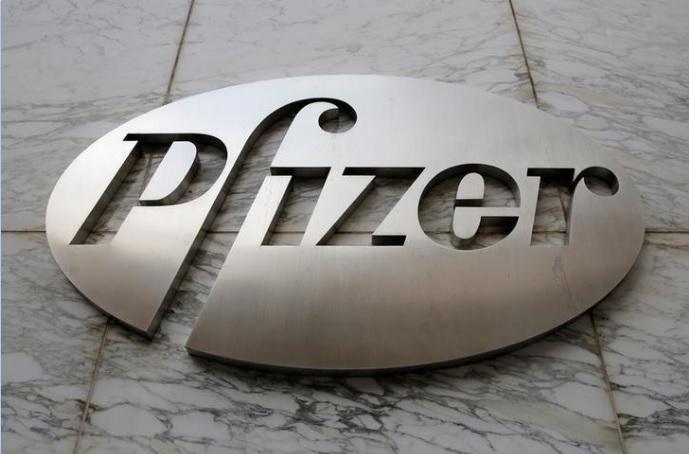 شعار شركة فايزر