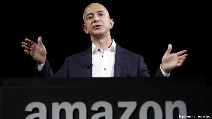 جيف بيزوس الرئيس التنفيذي ومؤسس شركة أمازون