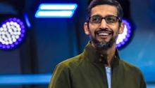الرئيس التنفيذي لشركة جوجل ساندر بيشاي