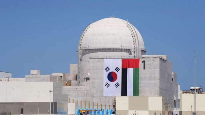 المفاعل رقم 1 في محطة براكة للطاقة النووية