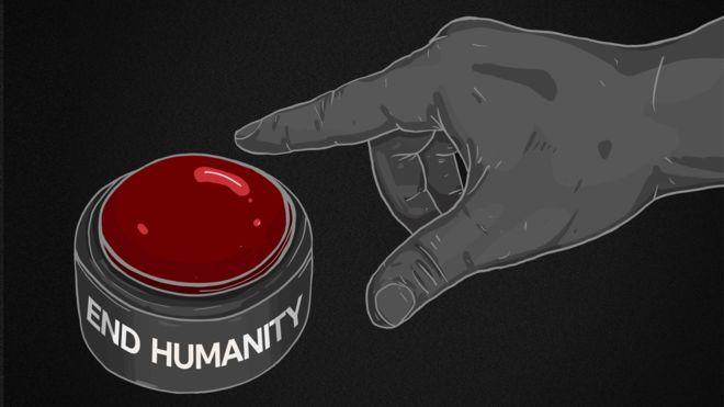 تخيل لزر أحمر كبير يمكن أن ينهي حياة الإنسان