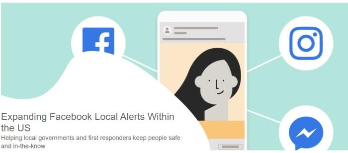 تعمل خاصية التنبيهات المحلية علي مساعدة السلطات المحلية وأجهزة الطوارئ علي سلامة المواطنين والأطمئنان عليهم