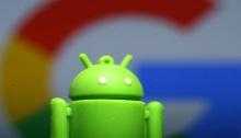 شعار نظام تشغيل أندرويد لشركة جوجل