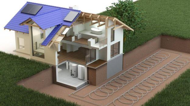 تستفيد أنظمة التبريد والتدفئة الأرضية من درجات الحرارة الثابتة في جوف الأرض