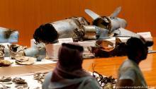 صورة لبقايا صاروخ حوثي إطلق علي السعودية