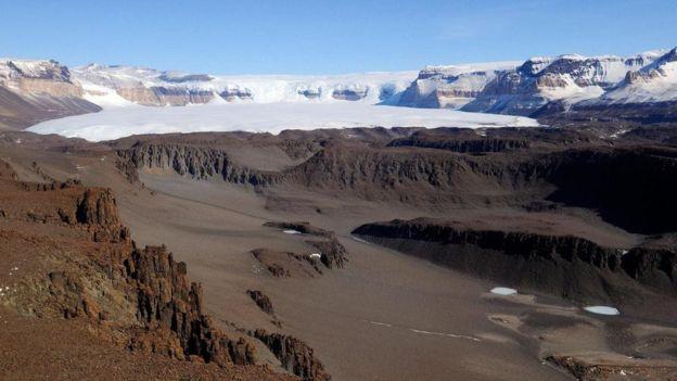 يواصل العلماء العثور على بكتيريا حية في بعض مناطق وديان ماكموردو الجافة في القارة القطبية الجنوبية رغم أن الأمطار لم تهطل على هذه البقاع منذ قرون طويلة