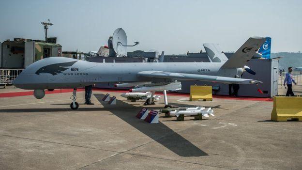 الصين من كبار مصدري الطائرات المسيرة الى الشرق الأوسط