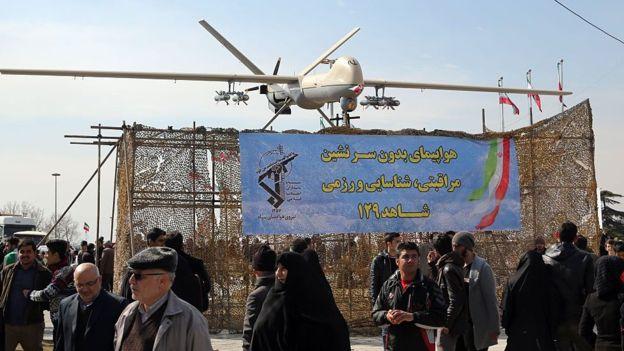 قامت ايران بتزويد حزب الله اللبناني بعدد من الطائرات المسيرة