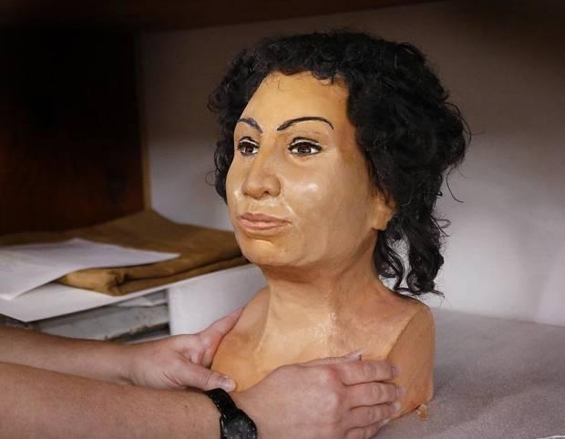 كشف متحف Mabee-Gerrer للفنون يوم السبت عن عملية إعادة بناء الوجه ثلاثية الأبعاد لمومياء توتو المصرية