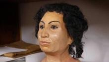 وجه مومياء مصرية أنتجتها طابعة ثلاثية الأبعاد