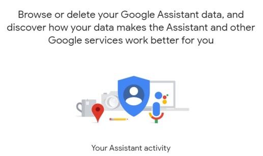 """موقع بياناتك الشخصية في صفحة """"مساعد"""" جوجل"""