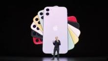 الرئيس التنفيذي لشركة أبل تيم كوك يعلن عن موديلات أيفون 11 الجديدة