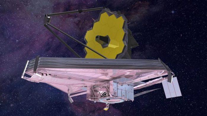 تليسكوب ناسا المرتقب المسمى بتليسكوب جيمس ويب الفضائي