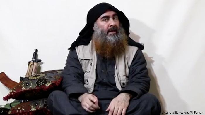 زعيم تنظيم داعش الراحل أبو بكر البغدادي