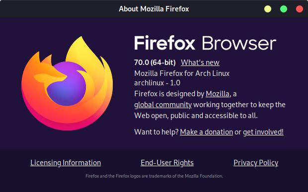إذا كنت تستخدم متصفح فايرفوكس فيجب أن تقوم بتحديثه للاستفادة من الخصائص الجديدة