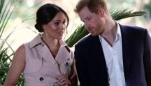 الأمير هاري وزوجته ميجان في جوهانسبرج يوم 2 أكتوبر 2019